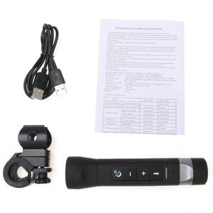 Image 5 - kebidu New Outdoor Sport Bluetooth Speaker 4 in 1 Multi Function Flashlight Power Bank Speaker Handsfree Mic For Bike Bicycle