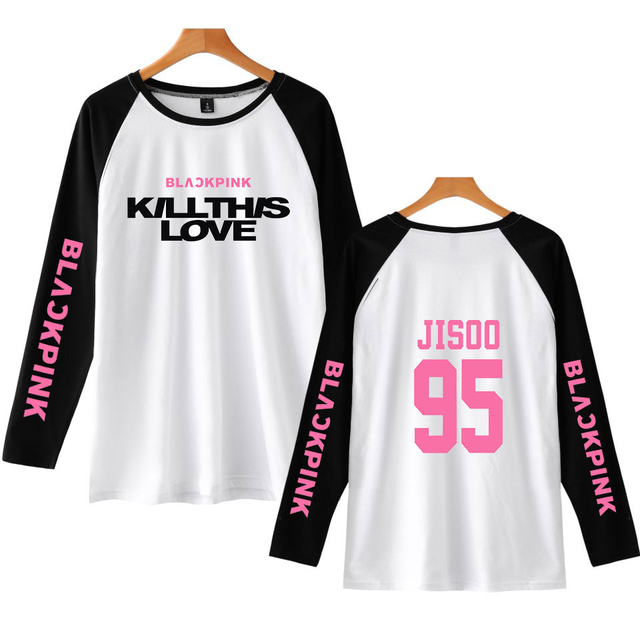8cd302ee BLACKPINK Kill This Love Long Sleeve T-Shirt (12 types available)