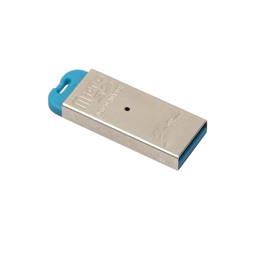 Высокая Скорость USB 2.0 Micro SD TF T-Flash чтения карт памяти адаптер fot Планшеты/телефонов мини размер полностью ...