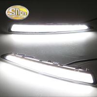 With Yellow Turning Function Car Accessories High Power LED Daytime Running Light LED DRL For Ford