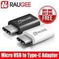 100% Brand New RAUGEE Top Quality Micro USB To Type-c Adaptor For DOOGEE F7 Pro innos D6000 Ulefone Future Vernee Apollo Lite