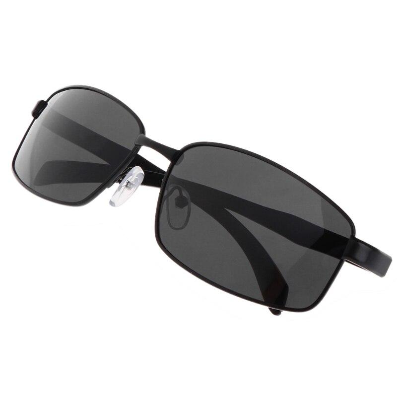 Newest Black Glasses Fishing Cycling Polarized Outdoor Sunglasses Metal Frame Sport UV400 Men