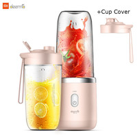 Xiaomi Deerma 400ML Portable Electric Juicer Blender Automatic Multi-Functional USB Rechargable Juice Cup Mixer For Baby Girls Smart Remote Control