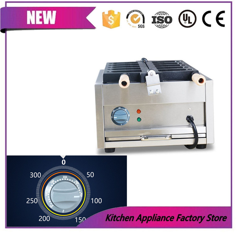 Free shipping by express 110V 220V ice cream Hanging bell machine Hanging bell waffle maker machine
