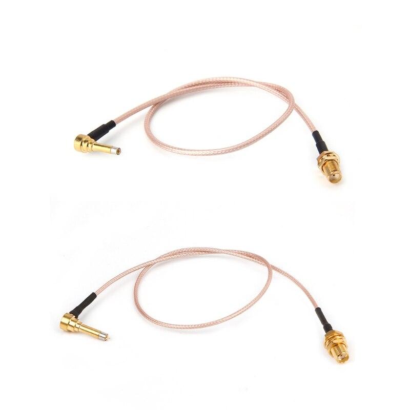 OOTDTY MS156 Stecker Stecker Auf SMA Weiblichen Test Sonde RG178 RG316 Kabel Führt 35 cm
