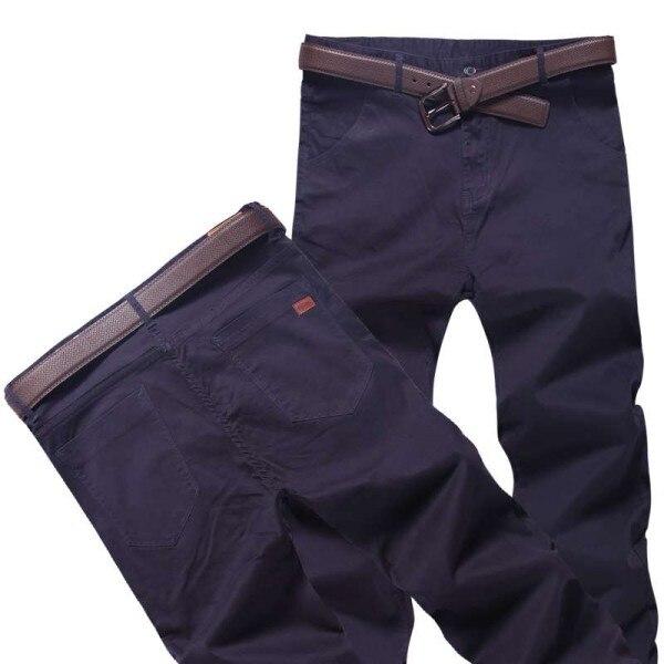 Топ размера плюс 6xl 46 44 48 мужские большие хип-хоп брюки хлопок Новые Большие размеры мужские повседневные брюки - Цвет: Небесно-голубой