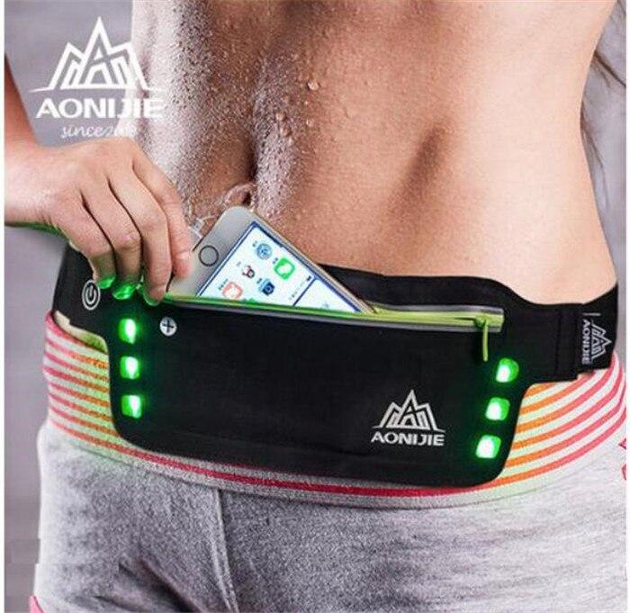 Prix pour Aonijie hommes femmes de course sac de sport de course taille pack pour téléphone sac écouteurs réfléchissantes courir taille sac d'eau ceinture