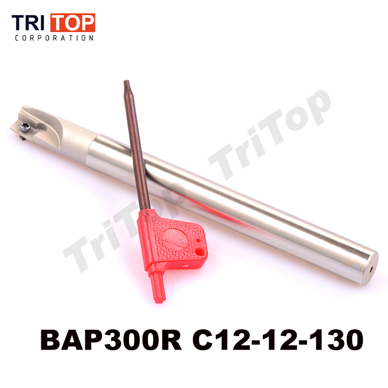 Milling head BAP JAP 300R C12-12-130 face mill shoulder cutter for milling machine for carbide milling insert APMT1135
