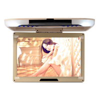 13 inch TFT LCD Flip Dowm Monitor Car Roof Mounted Monitor Beige