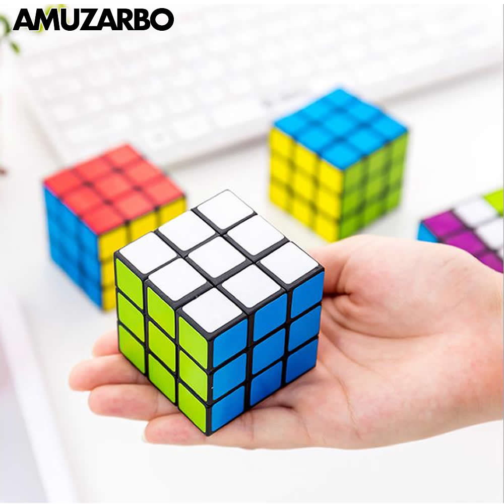 Professional Children's Educational Super Smooth Third-order Magic Cube Never Fade Adult Decompression Toys Kindergarten Gifts