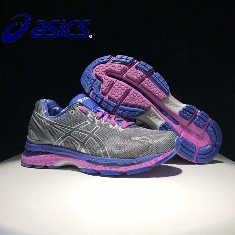 2018 ASICS GEL-KAYANO 19 T750N-9093 Original New Arrival Official Asics Woemn's Sneakers Portable Outdoor Athletic shoes монитор samsung c24f390fhi
