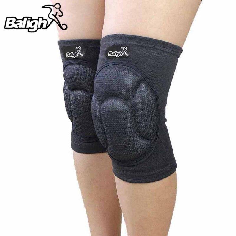 Protective Knee Pads Thick Sponge Anti-slip Collision Avoidance Knee Sleeve One Pair