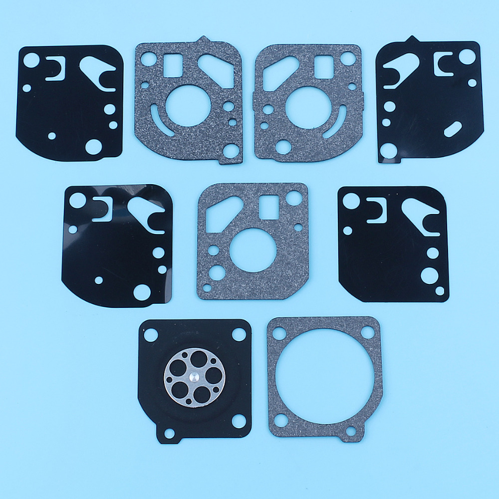 Carburetor Repair Rebuild Gasket Kit For McCulloch Trim Mac 2250 210, 240, 241, 251, 251SST Trimmers Strimmers Brush Cutters