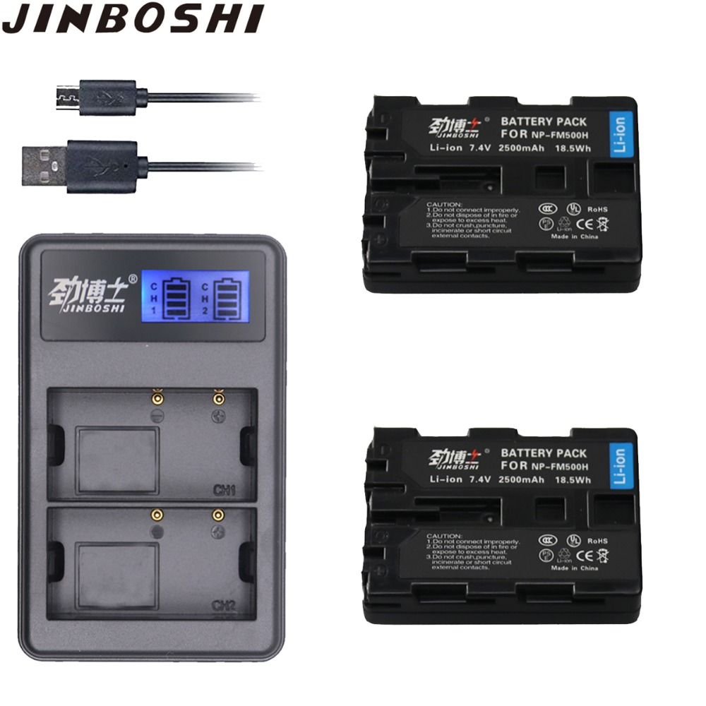 2pcs  NP-FM500H  NPFM500H  NP FM500H battery pack + LCD USB Dual charger for Sony A200 A200K A200W A300 A350 A450 camera2pcs  NP-FM500H  NPFM500H  NP FM500H battery pack + LCD USB Dual charger for Sony A200 A200K A200W A300 A350 A450 camera