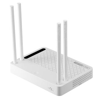 TOTOLINK A2004NS 1200Mbps 2.4G/5.0GHz Wireless Wifi Gigabit Router,5dBi High Gain Antenna Wireless Wi-Fi Repeater,Multiple SSID
