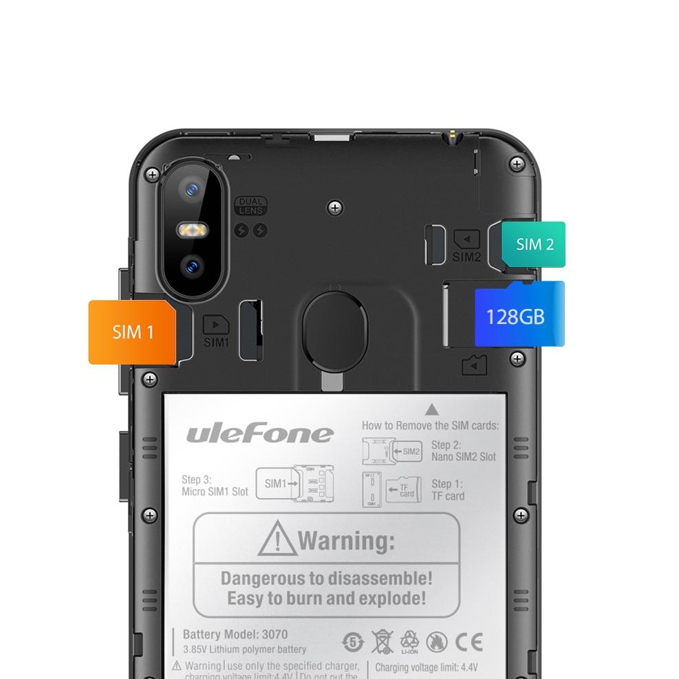 Ulefone S10 Pro Mobile Phone Android 8.1 5.7 inch MT6739WA Quad Core 2GB RAM 16GB ROM 16MP+5MP Rear