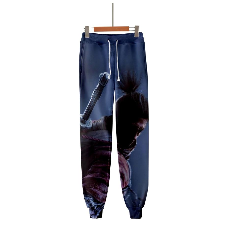 Clothing SEKIRO Jogging Trousers Hip-Hop Take Unisex Die-Twice Shadows Hundred 3d-Print