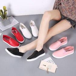 Женская кожаная обувь, повседневная обувь на плоской подошве белого цвета, на шнурках, 2018
