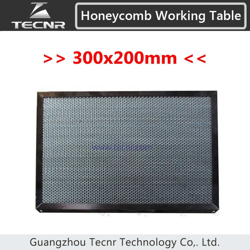 honeycomb working table 300*200MM for CO2 laser cutting machine laser equipment machine parts измерительный прибор laser target 150 200 300 300 300