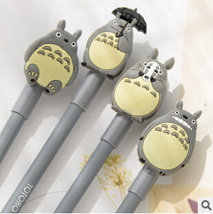 купить Novelty Cute My Neighbor Totoro Gel Ink Pen Signature Pen Escolar Papelaria School Office Supply Promotional Gift в интернет-магазине