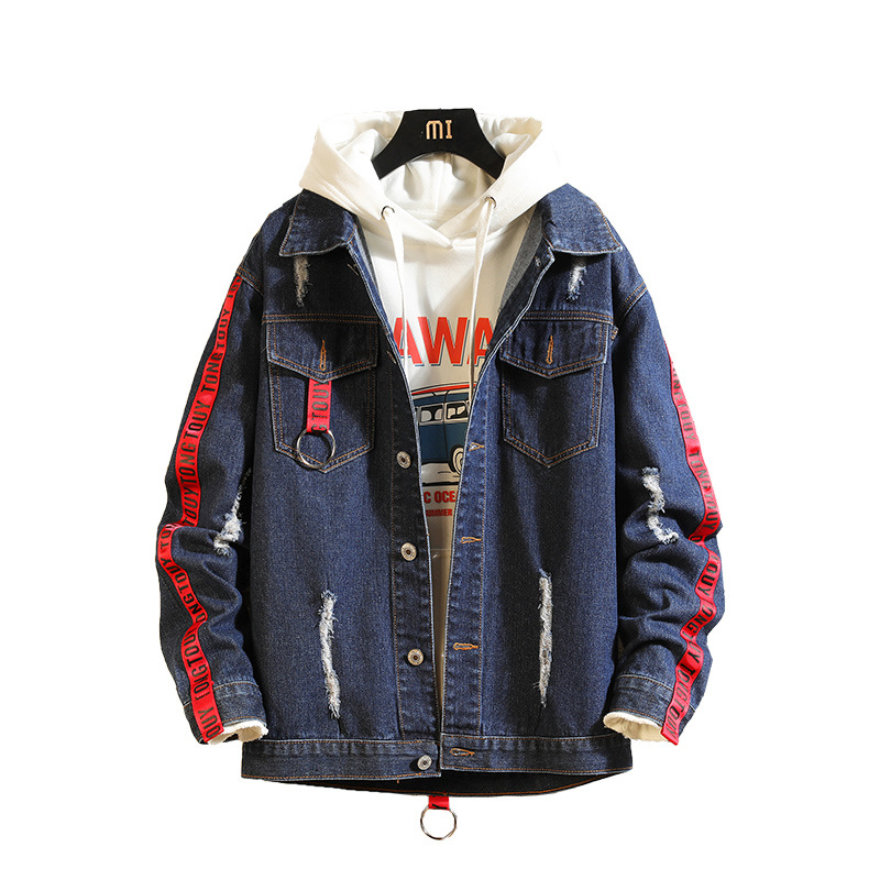 Dropshipping Suppliers Usa New Arrival Mne Jeans Jacket Denim Jackets and Coats(China)