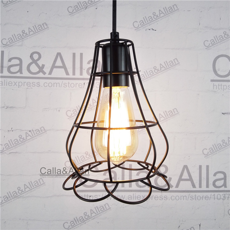160mmX200mm flower iron cage with 1.2meter cable wire and 120mm ceiling plate hanging lamp edison bulb E27 pendant light 40W d250mm smoke grey color finished glass ball black iron pendant light with bulb 1 1 meter wire d120mm ceiling plate hanging lamp