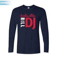 2016 fall Pioneer DJ popular Style Pioneer T-Shirt Fashion Long Sleeve Tshirt For Pioneer DJ PRO T Shirt Men O-Neck T-Shirts XXL