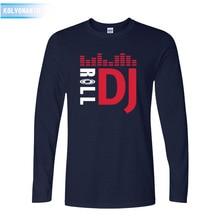 2016 fall Pioneer DJ popular Style T-Shirt Fashion Long Sleeve Tshirt For PRO T Shirt Men O-Neck T-Shirts XXL
