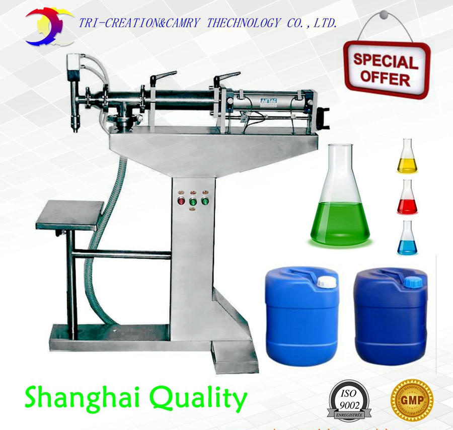 filling bottle machine,1L cream filling machine,pneumatic liquid filler