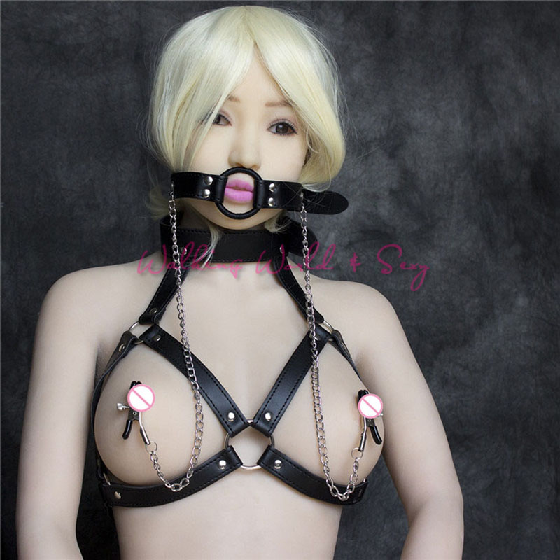 Mens Whole Body Harness Fetish Bondage Restraints Adj Outfit Male Erotic Costume