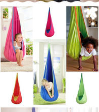 2018 hot sale Hammock Inflatable Cushion Garden Swing Chair Indoor Outdoor Hanging Seat Child Swing Seat Patio Hammock Furniture(China)