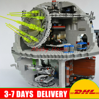 DHL Lepin 05063 4016pcs Genuine New Force Waken UCS Death Star Educational Building Blocks Bricks Model