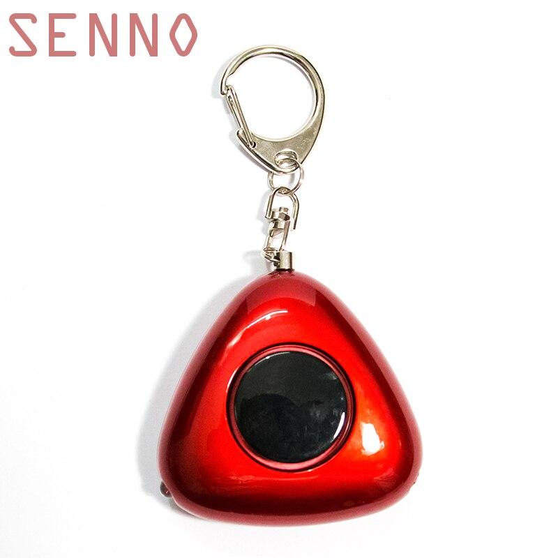 SENNO Self Defense Personal Security Alarm Keychain Emergency Alarm Safety Alarm For Women Elderly As Car Keychain