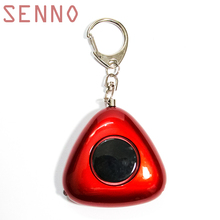 SENNO Self Defense Personal Security Alarm Keychain Emergency Alarm Safety Alarm For Women Elderly As Car Keychain doberman security motion detector alarm with emergency keychain self protection safety home security movement sensors infrared