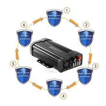 Горячая солнечной энергии инвертор 2000 Вт пик 12 В постоянного тока до 110 В переменного тока модифицированный синусоидальный преобразователь