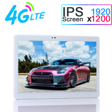 10 pulgadas Original 4G LTE Octa core 4 GB RAM 32 GB ROM 1920*1200 HD IPS Tablet PC Android 7.0 Bluetooth GPS WiFi Tablet PC 7 8 9