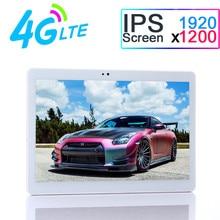 10 pulgadas Original 4G LTE Octa core 4 GB RAM 32 GB ROM 1920*1200 HD IPS Tablet PC Android 7.0 Bluetooth GPS WiFi Tablet PC 7 8 9