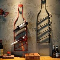 Creative Bar Wall Decorations Red Wine Shelf, Wall Hanging, Home Restaurant, Wine Rack