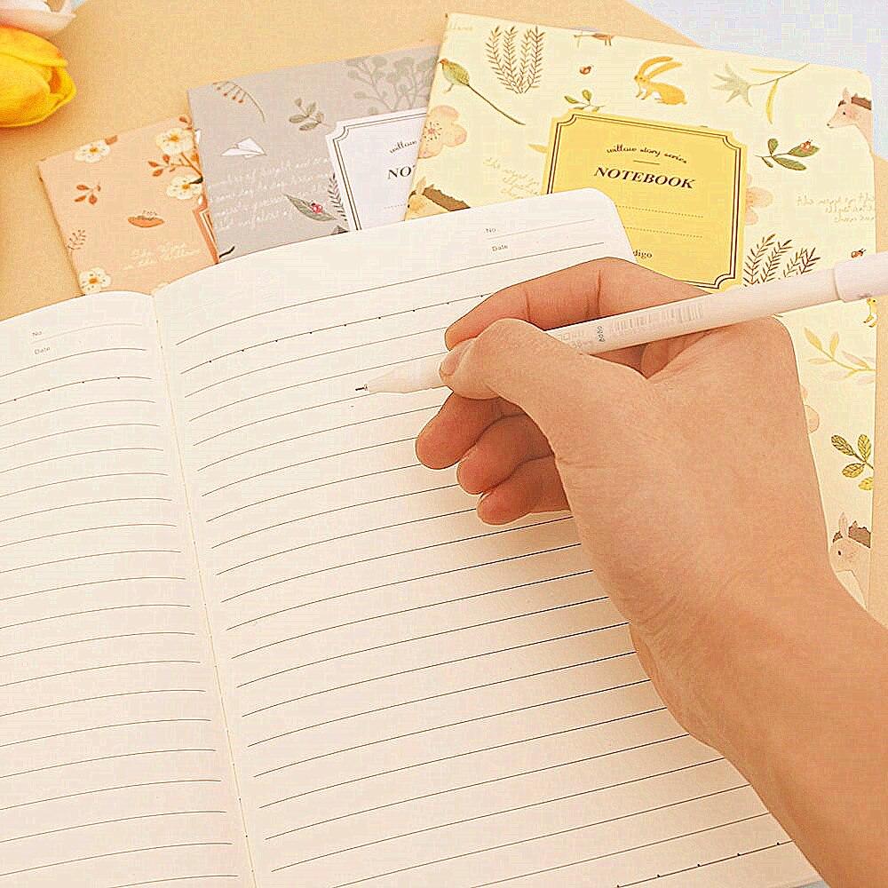Hot 1 stks Leuke Natuur Dier Plant A5 Notebook 32 Pagina Notepad - Notitieblokken en schrijfblokken bedrukken - Foto 5