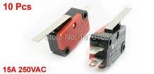 цена на V-152-1c25 SPDT 1NO 1NC 3Pin pendek lurus engsel tuas Limit Switch mikro, 10 Pcs