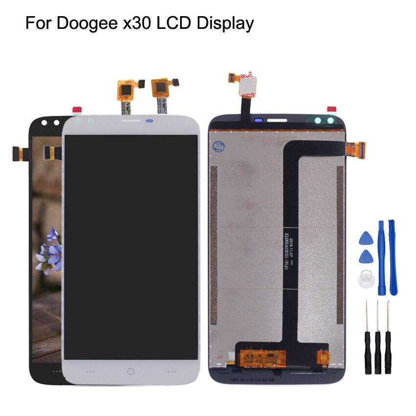 Оригинальный Для Doogee X30 ЖК дисплей + сенсорный экран дигитайзер для Doogee X30 ЖК экран в сборе