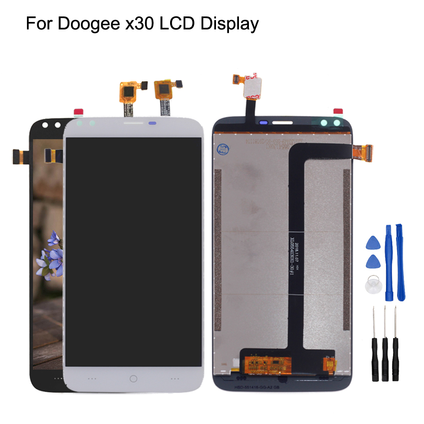 Original For Doogee X30 LCD Display+Touch Screen Digitizer Display Assembly