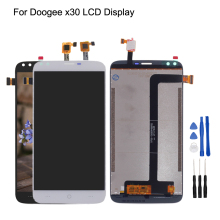 цена Original For Doogee X30 LCD Display+Touch Screen Digitizer For Doogee X30 Display Screen LCD Assembly