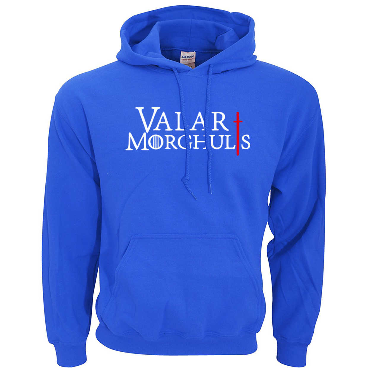 Valar Morghulis letters bluza męska gra o tron męska bluza 2019 wiosna zima nowa ciepła kurtka polarowa z kapturem mężczyźni sudadera hombre