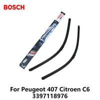 2pcs Lot Bosch Car AEROTWIN Wipers Windshield Wiper Blades Dedicated Wipers For PEUGUOT 407 Citroen C6