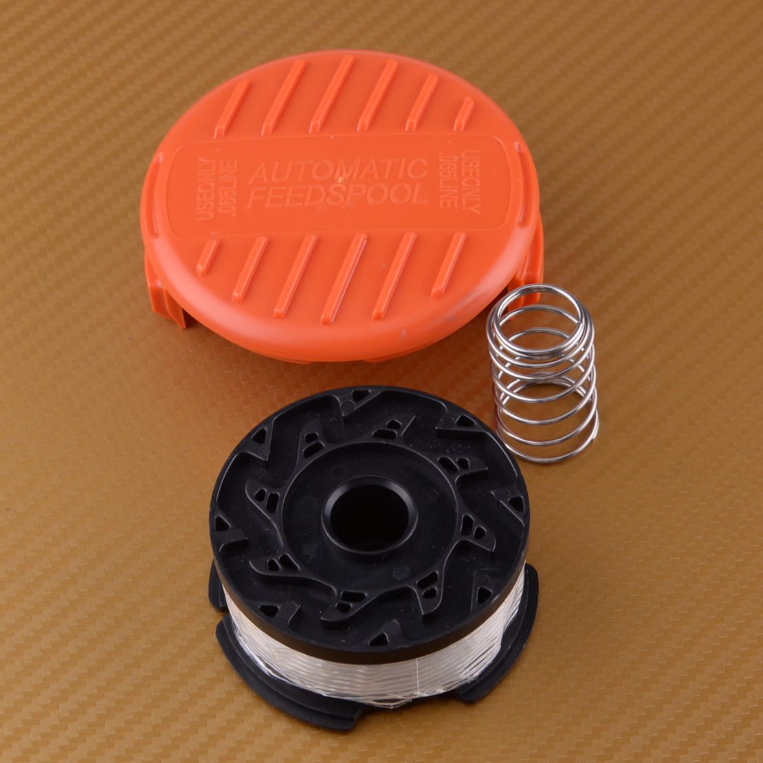 US $9 89 34% OFF|Trimmer Line & Spool Cap Spring Fit for BLACK&DECKER GH400  GH500 GH600 GH612 GH900 ST6600 ST7000 ST7700 CST1000 CST1200-in Tool Parts