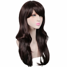 70cm long 12 colours Curly Synthetic Hair wigs