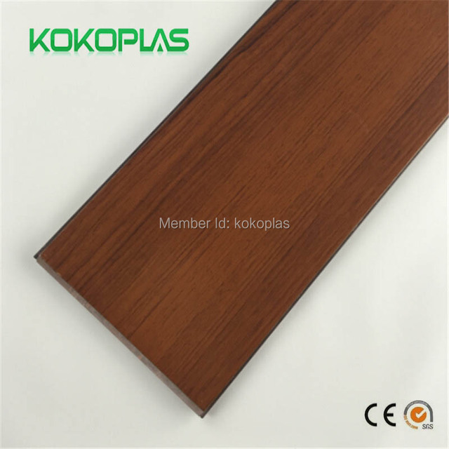 Wood Pvc Self Adhesive Vinyl Tiles Resilient Sheet Flooring Plastic