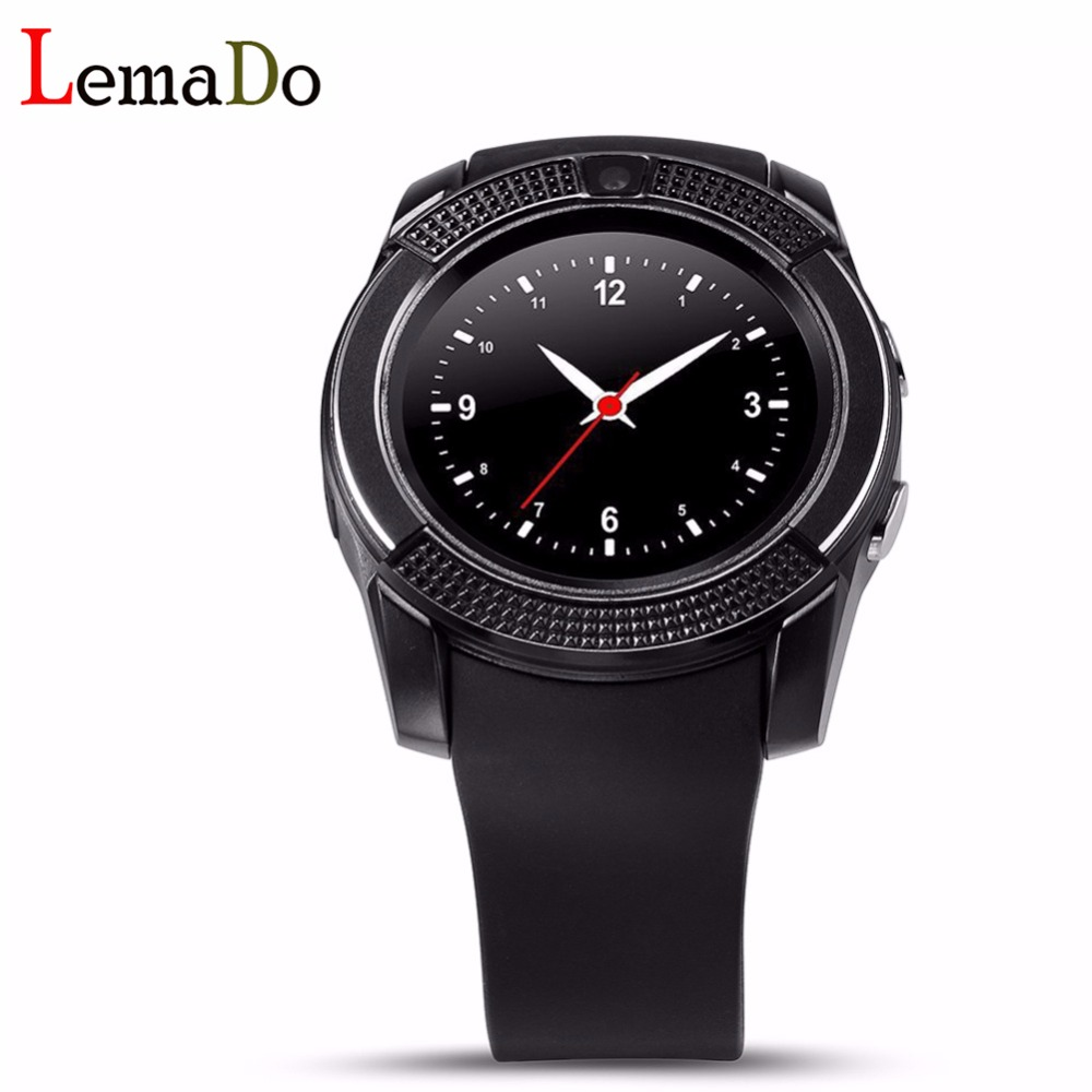 New Bluetooth Smart Watches V8 Android with 0 3M Camera MTK6261D font b Smartwatch b font