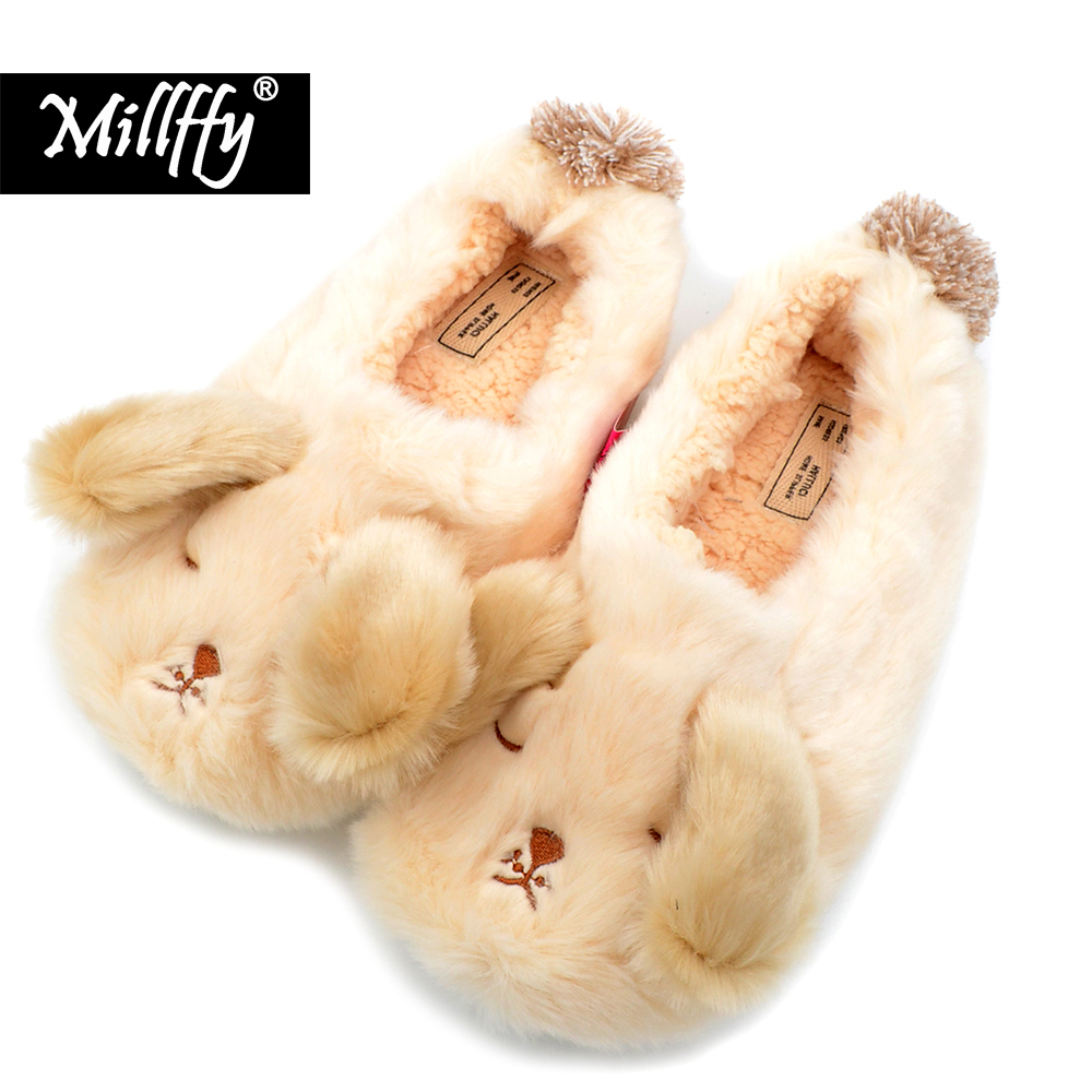 Millffy new winter thick velvet warm cinnamoroll bag with adorable dog cotton slippers and shoes